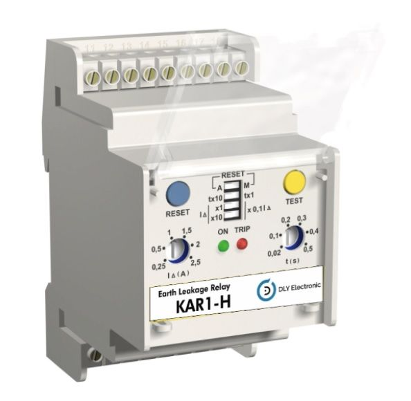 KAR1-H Earth leakage Relays